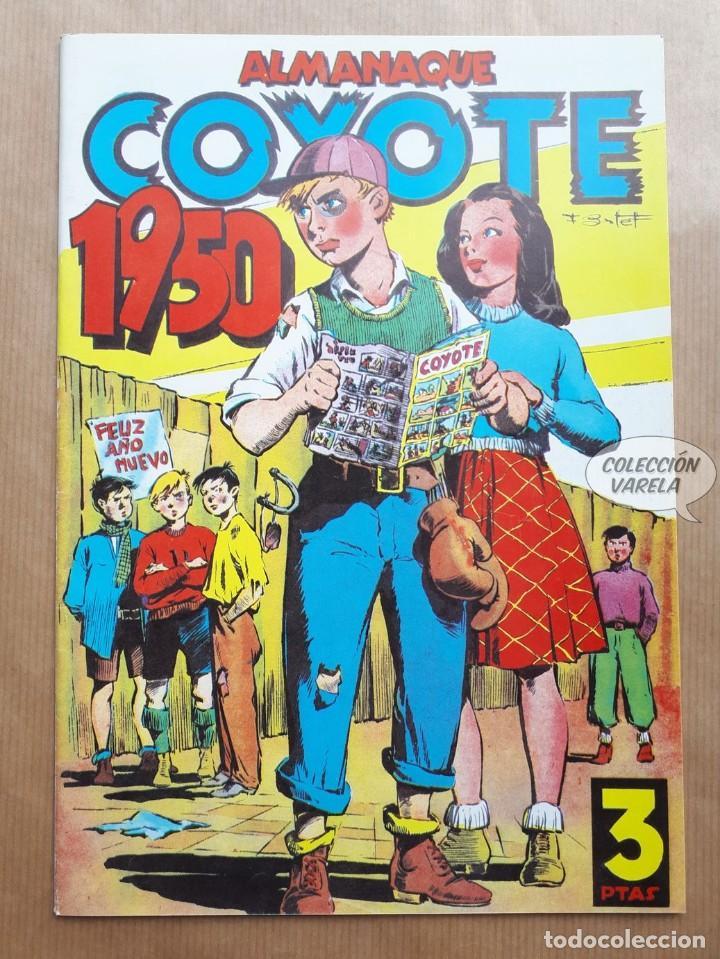 COYOTE - ALMANAQUE 1950 - REEDICIÓN (Tebeos y Comics - Tebeos Reediciones)
