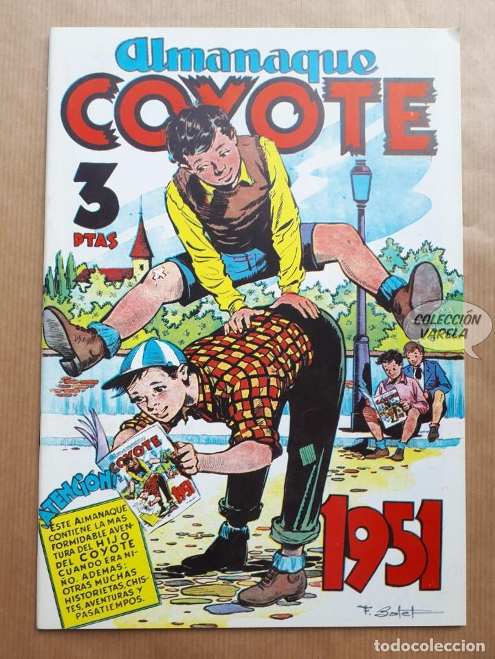 COYOTE - ALMANAQUE 1951 - REEDICIÓN (Tebeos y Comics - Tebeos Reediciones)