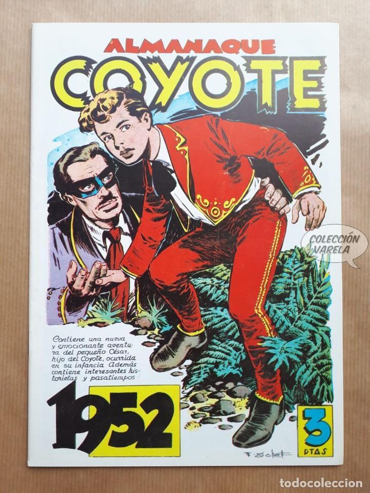 COYOTE - ALMANAQUE 1952 - REEDICIÓN (Tebeos y Comics - Tebeos Reediciones)