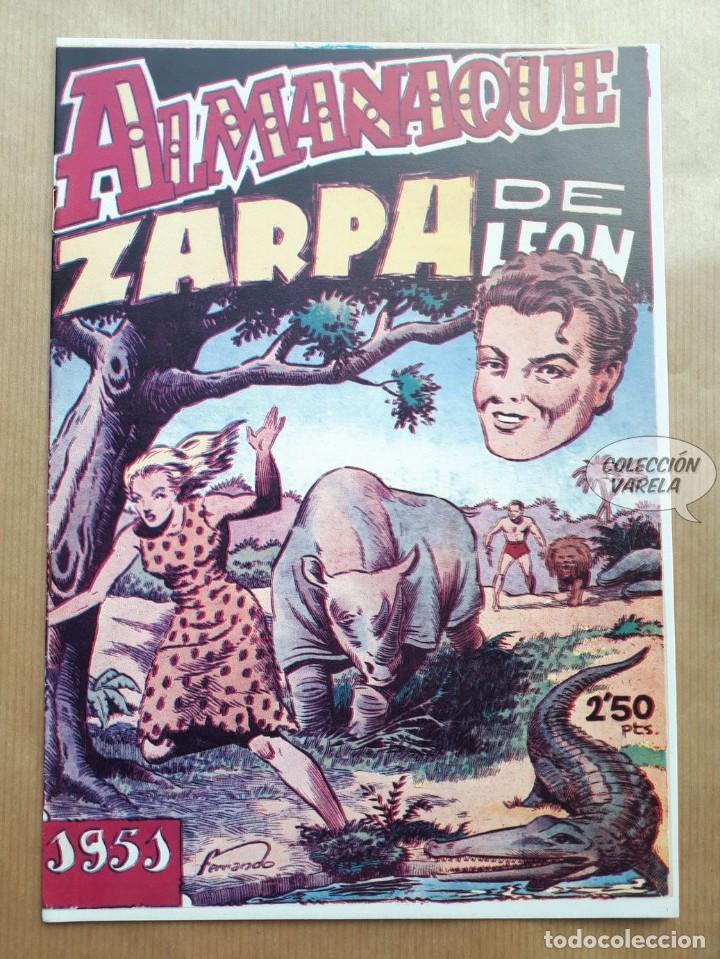 ZARPA DE LEÓN - ALMANAQUE 1951 - REEDICIÓN (Tebeos y Comics - Tebeos Reediciones)