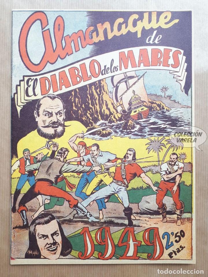 EL DIABLO DE LOS MARES - ALMANAQUE 1949 - REEDICIÓN (Tebeos y Comics - Tebeos Reediciones)