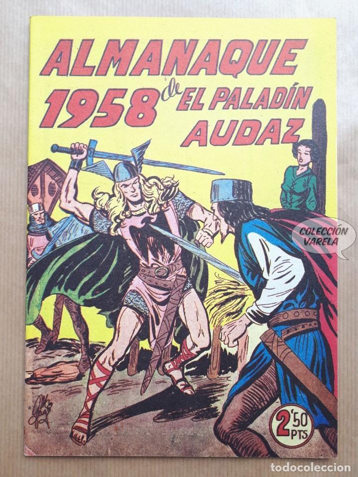 ALMANAQUE DE EL PALADÍN AUDAZ - 1958 - REEDICIÓN (Tebeos y Comics - Tebeos Reediciones)