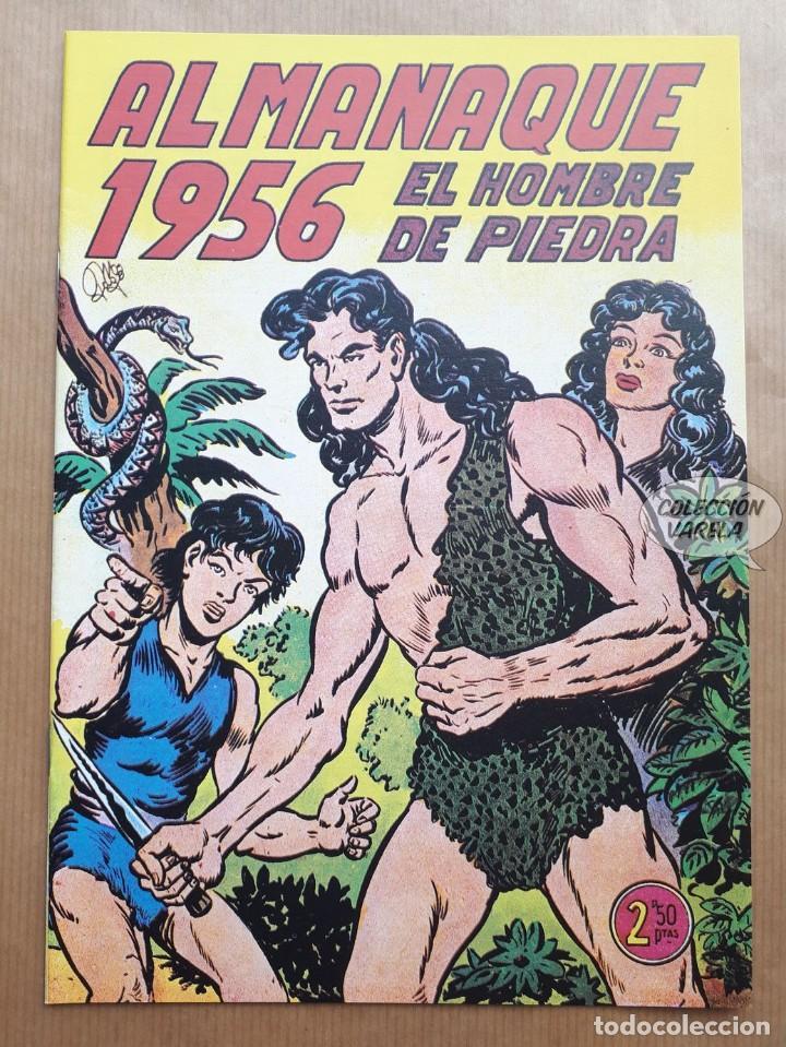EL HOMBRE DE PIEDRA - ALMANAQUE 1956 - REEDICIÓN (Tebeos y Comics - Tebeos Reediciones)