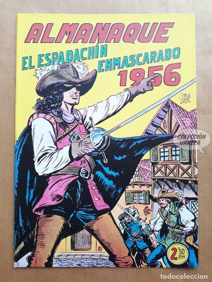 EL ESPADACHÍN ENMASCARADO - ALMANAQUE 1956 - REEDICIÓN (Tebeos y Comics - Tebeos Reediciones)