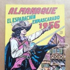 Tebeos: EL ESPADACHÍN ENMASCARADO - ALMANAQUE 1956 - REEDICIÓN. Lote 257680560