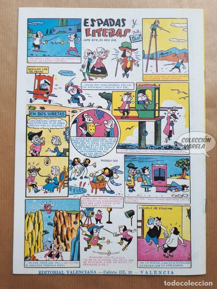 Tebeos: El Espadachín Enmascarado - Almanaque 1956 - Reedición - Foto 2 - 257680560