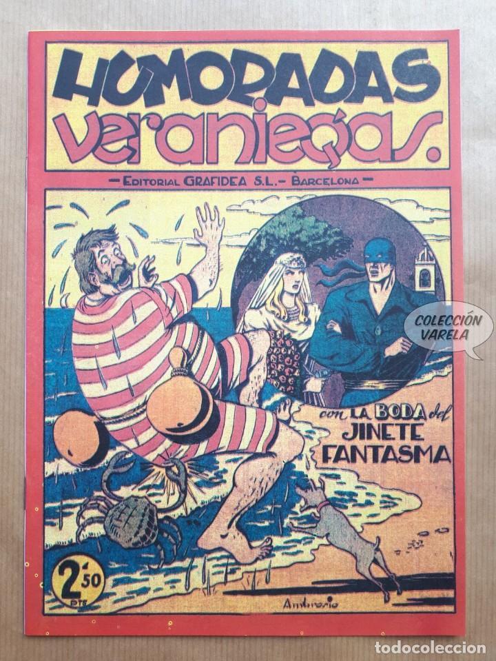 HUMORADAS VERANIEGAS - CON LA BODA DEL JINETE FANTASMA - REEDICIÓN (Tebeos y Comics - Tebeos Reediciones)