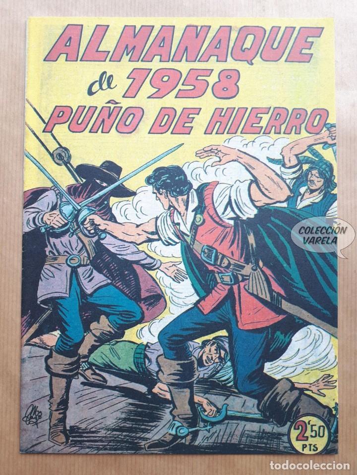 PUÑO DE HIERRO - ALMANAQUE 1958 - REEDICIÓN (Tebeos y Comics - Tebeos Reediciones)