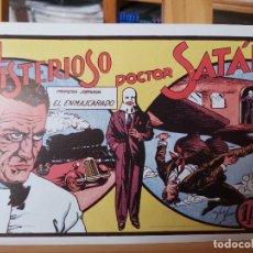 Livros de Banda Desenhada: * EL MISTERIOSO DOCTOR SATAN * PRIMERA,SEGUNDA Y TERCERA JORNADA * REEDICION COMPLETA *. Lote 258771940