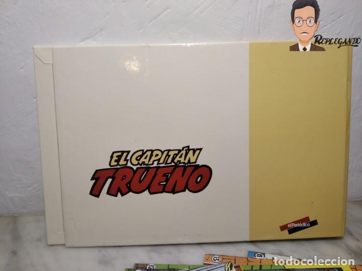 Tebeos: EL CAPITÁN TRUENO FACSÍMIL 32 NÚMEROS FACSÍMIL REEDICIÓN 1997 EL PERIÓDICO - Foto 3 - 261249320