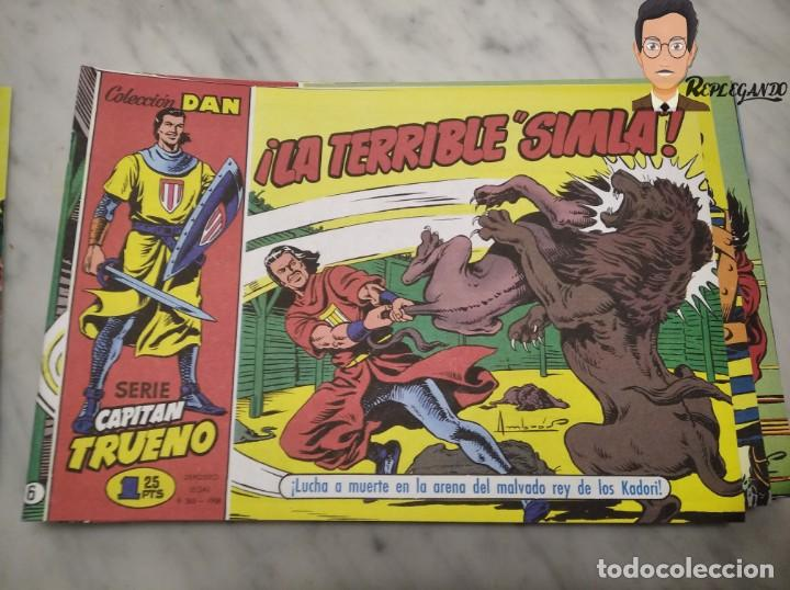 Tebeos: EL CAPITÁN TRUENO FACSÍMIL 32 NÚMEROS FACSÍMIL REEDICIÓN 1997 EL PERIÓDICO - Foto 10 - 261249320