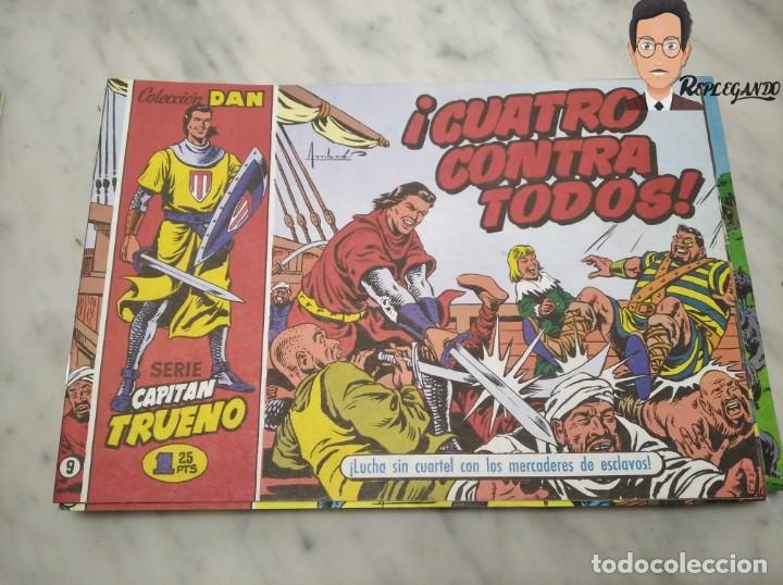 Tebeos: EL CAPITÁN TRUENO FACSÍMIL 32 NÚMEROS FACSÍMIL REEDICIÓN 1997 EL PERIÓDICO - Foto 13 - 261249320