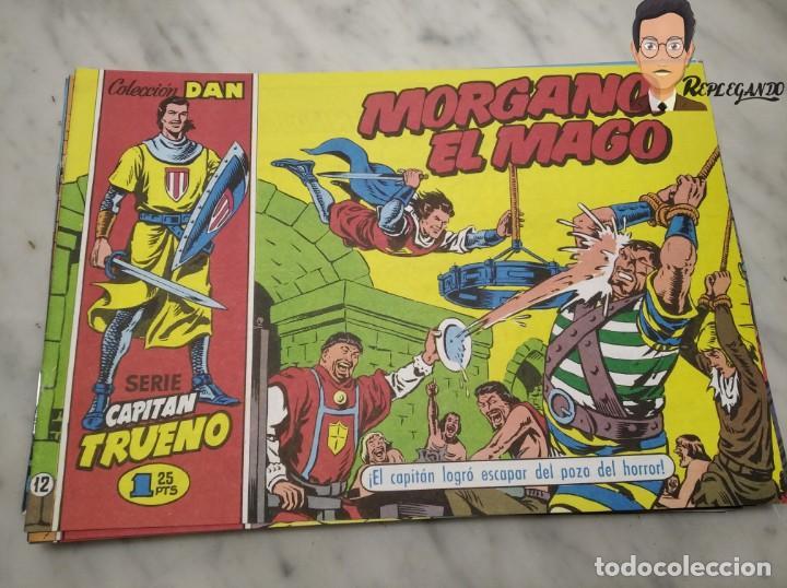 Tebeos: EL CAPITÁN TRUENO FACSÍMIL 32 NÚMEROS FACSÍMIL REEDICIÓN 1997 EL PERIÓDICO - Foto 16 - 261249320