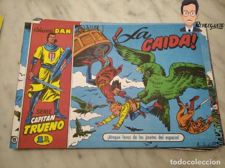Tebeos: EL CAPITÁN TRUENO FACSÍMIL 32 NÚMEROS FACSÍMIL REEDICIÓN 1997 EL PERIÓDICO - Foto 19 - 261249320