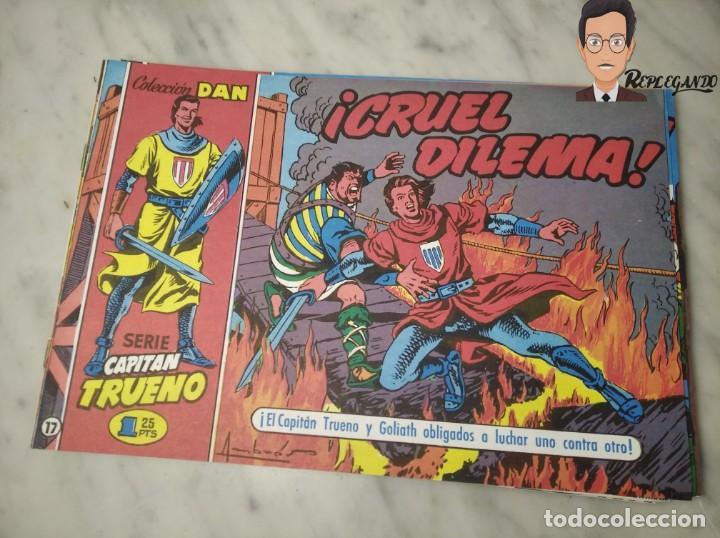 Tebeos: EL CAPITÁN TRUENO FACSÍMIL 32 NÚMEROS FACSÍMIL REEDICIÓN 1997 EL PERIÓDICO - Foto 21 - 261249320