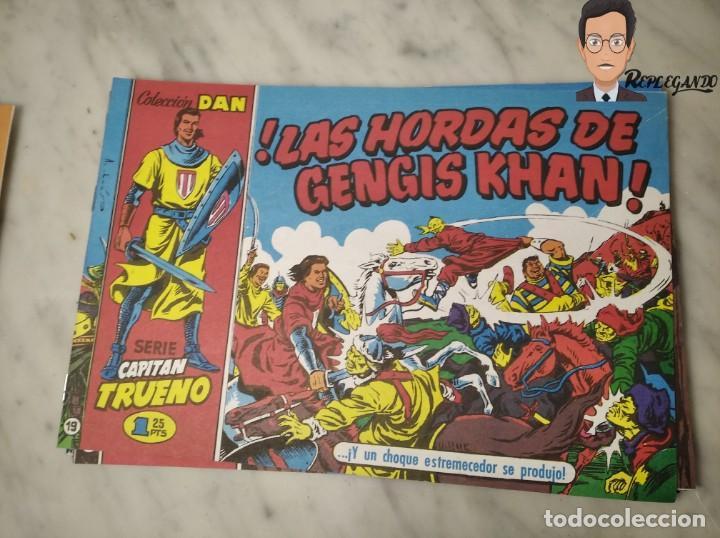 Tebeos: EL CAPITÁN TRUENO FACSÍMIL 32 NÚMEROS FACSÍMIL REEDICIÓN 1997 EL PERIÓDICO - Foto 23 - 261249320