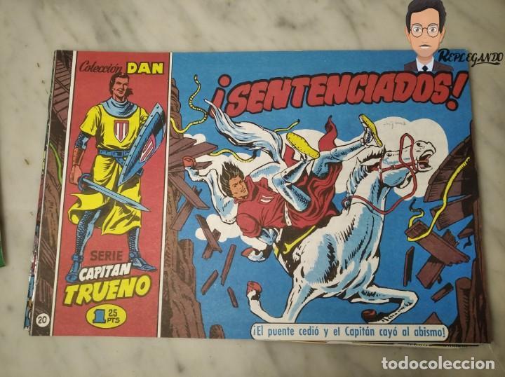 Tebeos: EL CAPITÁN TRUENO FACSÍMIL 32 NÚMEROS FACSÍMIL REEDICIÓN 1997 EL PERIÓDICO - Foto 24 - 261249320