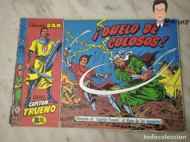 Tebeos: EL CAPITÁN TRUENO FACSÍMIL 32 NÚMEROS FACSÍMIL REEDICIÓN 1997 EL PERIÓDICO - Foto 26 - 261249320