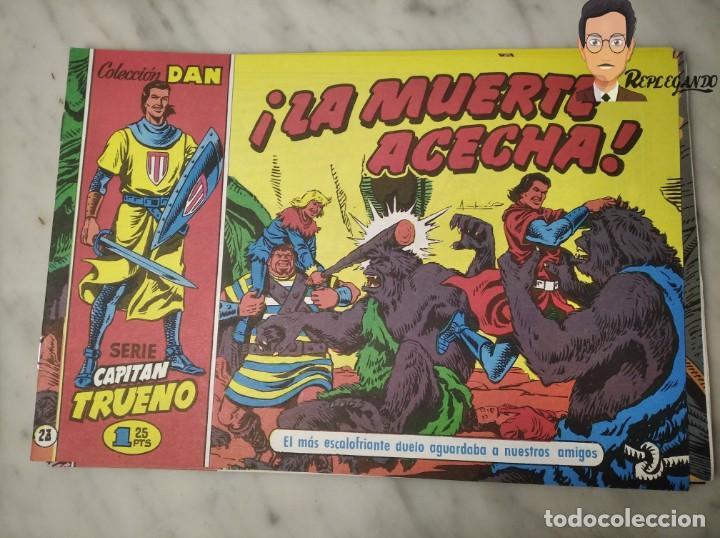 Tebeos: EL CAPITÁN TRUENO FACSÍMIL 32 NÚMEROS FACSÍMIL REEDICIÓN 1997 EL PERIÓDICO - Foto 27 - 261249320