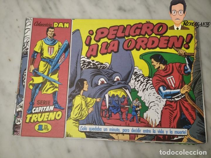 Tebeos: EL CAPITÁN TRUENO FACSÍMIL 32 NÚMEROS FACSÍMIL REEDICIÓN 1997 EL PERIÓDICO - Foto 28 - 261249320