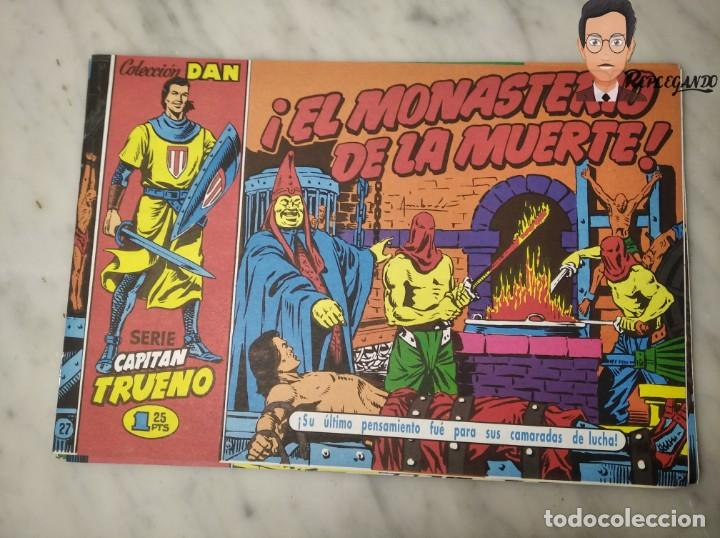 Tebeos: EL CAPITÁN TRUENO FACSÍMIL 32 NÚMEROS FACSÍMIL REEDICIÓN 1997 EL PERIÓDICO - Foto 31 - 261249320