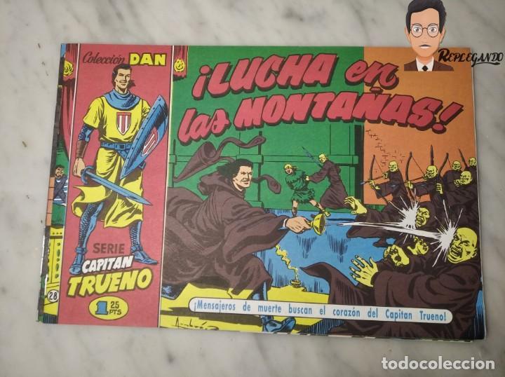 Tebeos: EL CAPITÁN TRUENO FACSÍMIL 32 NÚMEROS FACSÍMIL REEDICIÓN 1997 EL PERIÓDICO - Foto 32 - 261249320
