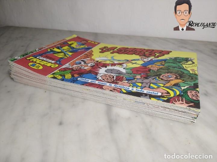 Tebeos: EL CAPITÁN TRUENO FACSÍMIL 32 NÚMEROS FACSÍMIL REEDICIÓN 1997 EL PERIÓDICO - Foto 37 - 261249320
