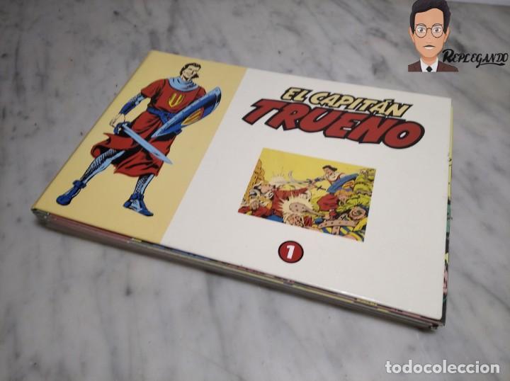 Tebeos: EL CAPITÁN TRUENO FACSÍMIL 32 NÚMEROS FACSÍMIL REEDICIÓN 1997 EL PERIÓDICO - Foto 39 - 261249320