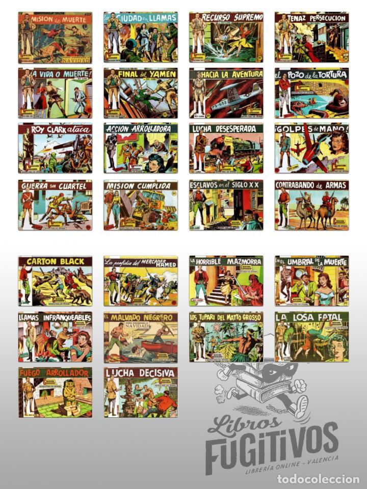 Tebeos: ROY CLARK 1 A 26. COMPLETA. VALENCIANA 1959 (Vvaa) Comic MAM, Circa 1980. FACSIMIL. OFRT - Foto 2 - 262228595