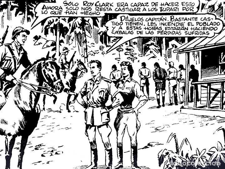 Tebeos: ROY CLARK 1 A 26. COMPLETA. VALENCIANA 1959 (Vvaa) Comic MAM, Circa 1980. FACSIMIL. OFRT - Foto 6 - 262228595