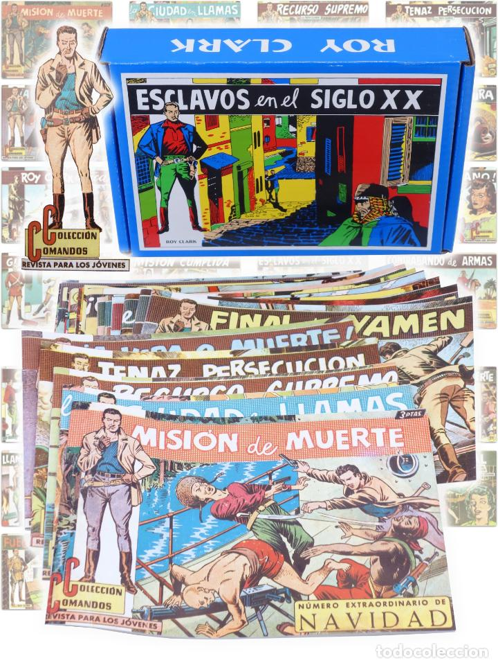 ROY CLARK 1 A 26. COMPLETA. VALENCIANA 1959 (VVAA) COMIC MAM, CIRCA 1980. FACSIMIL. OFRT (Tebeos y Comics - Tebeos Reediciones)
