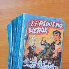 Tebeos: EL PEQUEÑO HEROE COMPLETA - 120 NUMEROS - REEDICION, FACSIMIL (9Ñ). Lote 262546885
