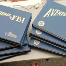 Tebeos: AVENTURAS DEL FBI / COMPLETA 252 NÚMERNOS EN 10 TOMOS / REEDICIÓN. Lote 262687680