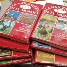 Tebeos: LA NATURALEZA EN EL MUNDO / COMPLETA 8 TOMOS / ASURI DE EDICIONES 1988. Lote 262694145
