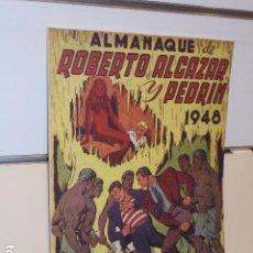 Giornalini: ALMANAQUE ROBERTO ALCAZAR Y PEDRIN AÑO 1948 - REEDICION. Lote 276390063