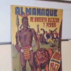 Giornalini: ALMANAQUE ROBERTO ALCAZAR Y PEDRIN AÑO 1947 - REEDICION. Lote 276390258
