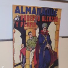 Tebeos: ALMANAQUE ROBERTO ALCAZAR Y PEDRIN AÑO 1950 - REEDICION. Lote 294441908