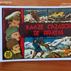 Tebeos: KAAZE, CAZADOR DE PIRATAS - SELECCION AVENTURERA - REEDICION, FACSIMIL (I2). Lote 263264625