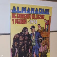 Giornalini: ALMANAQUE ROBERTO ALCAZAR Y PEDRIN AÑO 1951 - REEDICION. Lote 264202952