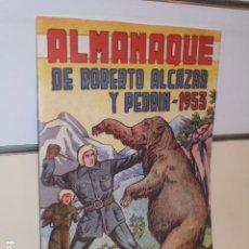 Giornalini: ALMANAQUE ROBERTO ALCAZAR Y PEDRIN AÑO 1953 - REEDICION. Lote 280961818
