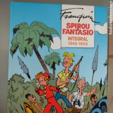 Tebeos: SPIROU Y FANTASIO INTEGRAL N° 1 1946-1950 DIB-BUKS FRANQUIN. Lote 265331784