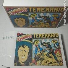 Tebeos: EL CHARRO TEMERARIO COLECCIÓN COMPLETA 44 NÚMEROS - 1ª SERIE - REEDICION, NUEVOS DE KIOSKO. Lote 275768913
