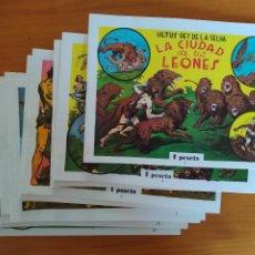 Livros de Banda Desenhada: ULTUS REY DE LA SELVA - COMPLETA - 14 NUMEROS - REEDICION FACSIMIL (EX). Lote 267810889