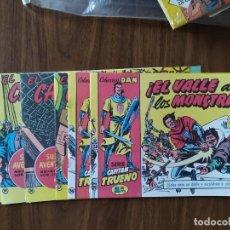 Livros de Banda Desenhada: EL CAPITÁN TRUENO - FACSÍMILES 55, 56, 57, 58, 59 Y 60 (ENTREGA 10). Lote 268297899