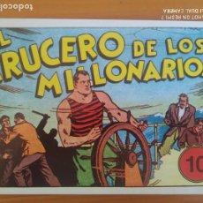 Tebeos: JUAN CENTELLA Nº 10 - EL CRUCERO DE LOS MILLONARIOS / EL MONSTRUO DE JAVA - REEDICION (EZ). Lote 271085473