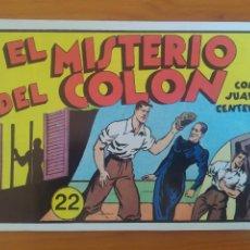 Tebeos: JUAN CENTELLA Nº 22 - EL MISTERIO DEL COLON / EL GRAN PREMIO DEL AUTOMOVIL - REEDICION (EZ). Lote 271086103