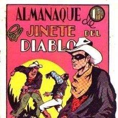 Giornalini: ALMANAQUE DE EL JINETE DEL DIABLO 1947 - IMPECABLE - SUB02M. Lote 275994688