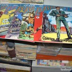Livros de Banda Desenhada: LOTE DE LOS ALMANAQUES DEL F.B.I. SEIS EJEMPLARES. Lote 278486718