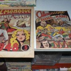 Livros de Banda Desenhada: COLECCION DE ALMANAQUES DEL DIABLO DE LOS MARES. Lote 278489618