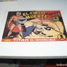 Tebeos: TITAN EL INVENCIBLE. Lote 278581413